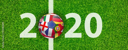 Cuadros en Lienzo fussball 2020
