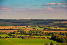 South Downs In Hampshire From Beacon Hill, England, United Kingdom