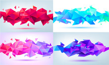 Vector Set Of Abstract Geometr...