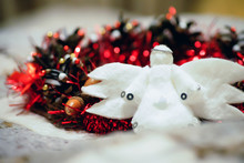 Christmas White Angel. On The ...