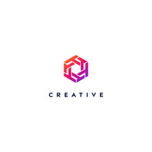 Creative Logo Letter T With A ...