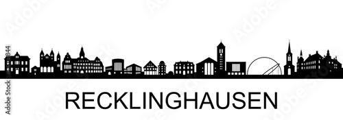 Fotomural  Recklinghausen Skyline