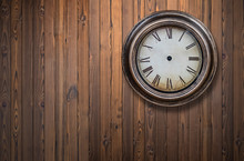 Old And Vintage Blank Clock Di...