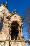 Fototapeta Londyn - Kaplica Buchholtzów na cmentarzu ewangelickim w Supraślu, Podlasie, Polska