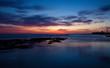 Beautiful dusk in Cadiz, Spain