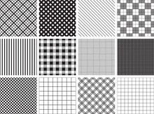 A Collection Of 12 Seamless Pl...