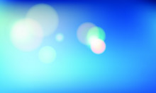 Blue Gradient  With Orb Vector...