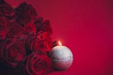 Valentine's Day Background, Re...