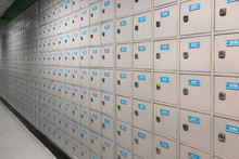 Mail Box Or P O Boxes With Numbres  - P. O. Box