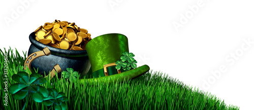 Fototapeta Saint Patricks Day Design Element obraz