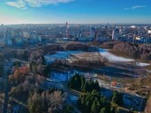 Aerial View Of Minsk, Belarus ...