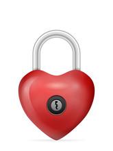 Padlock Heart