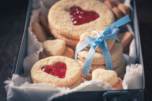 Cute Biscuits For Valentine Cu...
