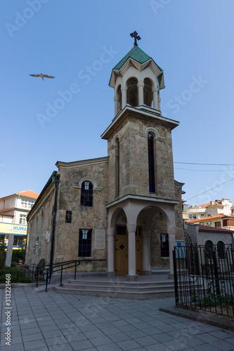 Photo Armenian Apostolic church. Burgas. Bulgaria.
