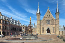 Ridderzaal And Fountain In Bin...