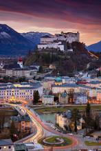Salzburg, Austria. Cityscape I...