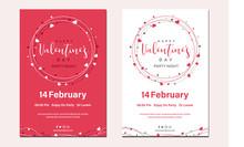 Poster Valentine's Day. Valent...