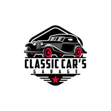 Classic Car's Vintage Logo Des...