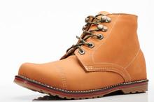 Brown Hiking Tall Shoe