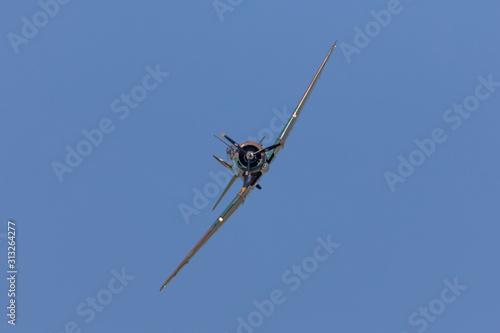 World War 2 Australian flighter plane Wallpaper Mural