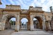Library of Celsus, 2nd century Roman building in the ancient city of Ephesus, Izmir, Turkey
