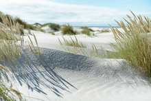 Breiter Strand An Der Nordsee