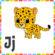 Funny Alphabet. Letter J - Jag...