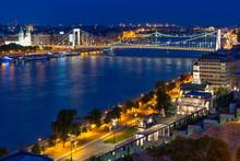 Aerial Night Vision Budapest W...