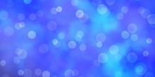 Light BLUE Vector Template Wit...