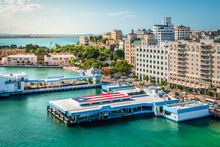 Port Of San Juan, Puerto Rico.