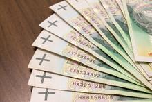 100 Zł. Duża Banknotów.