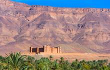 Timiderte Kasbah, Draa Valley,...