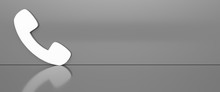 Phone Icon 3d Rendering