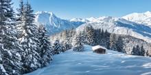 Panorama Einer Winterlandschaf...