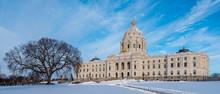 Minnesota State Capitol In Win...