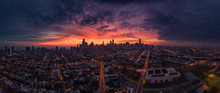 Chicago Aerial Panorama From W...