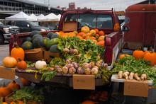 Fresh Produce At Farmers Marke...