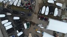 Aerial Over Speedboats Motorbo...