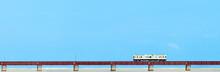 (パノラマ)由良川橋梁
