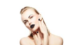 Beauty Fashion Model Woman Lam...