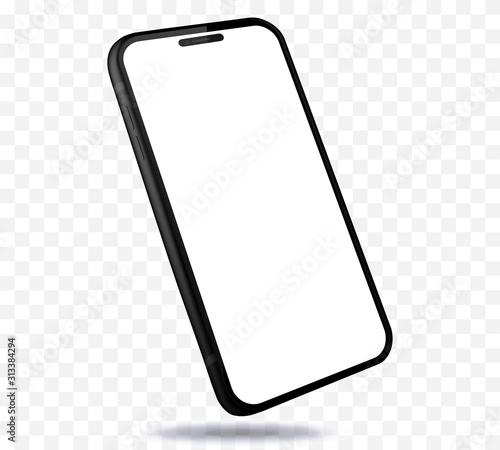 Photo Mobile Phone New and Black Design Concept