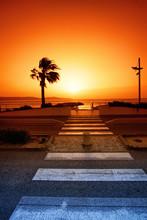French Riviera Coast In Cavala...