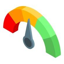 Choice Credit Score Icon. Isom...