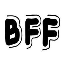 Bff Lettering Best Friends For...
