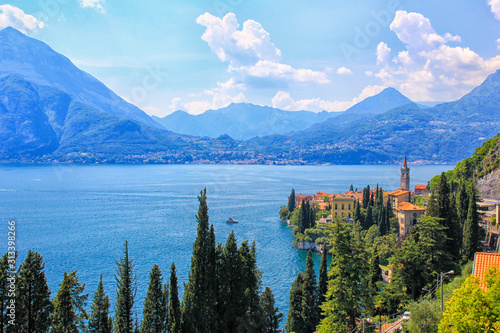 Varenna, lake Como Wallpaper Mural