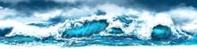 Sea Storm Panorama