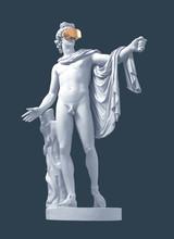 3D Model Apollo And Golden Vir...