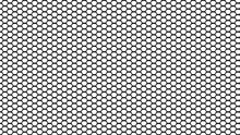 Hexagonal Pattern Mesh With Gr...