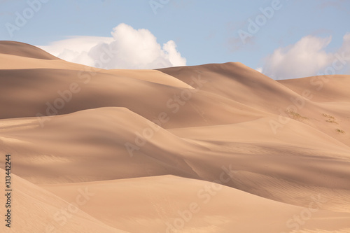 Canvas Print Great Sand Dunes National Park and Preserve