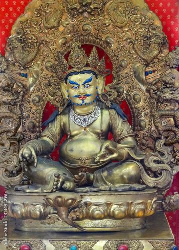 Bodhisattva sculpture in Singapore Canvas Print